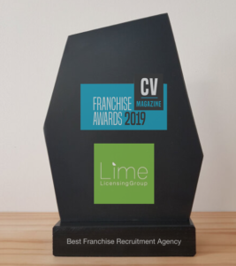Lime-Awards-trpphy-267x300 Award winning best franchise recruitment agency